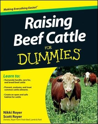 Raising beef cattle for dummies - 5m Books