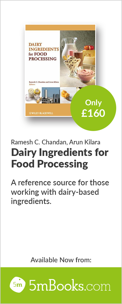 Dairy Ingredients for Food Processing - 5m Books